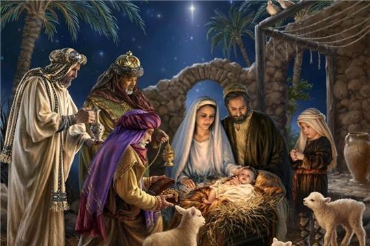 Рождественское богослужение – в прямом эфире Национального телевидения Чувашии