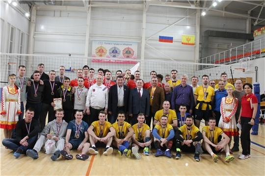ХХI Рождественский Республиканский волейбольный турнир среди мужских команд на призы Юрия Зорина