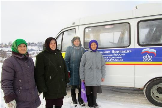 Первый выезд мобильной бригады по доставке в лечебную организацию