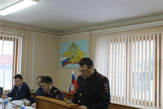 В отделе МВД по Козловскому району состоялось итоговое совещание за 2019 год
