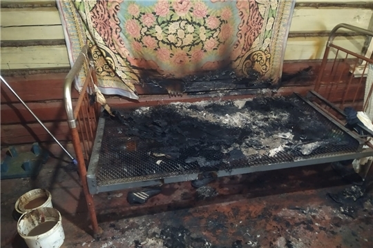 Обстановка с пожарами на территории Козловского района