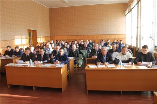 Состоялось расширенное заседание  Собрания депутатов Козловского района