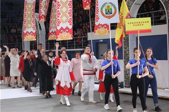 Делегация Козловского района приняла участие в старте марафона празднования 100-летия образования Чувашской автономии