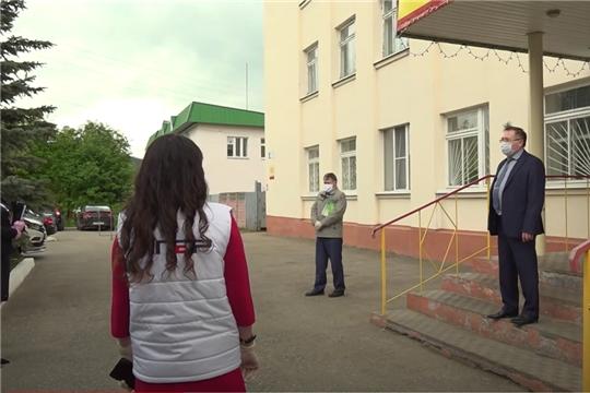 Как соблюдается масочный режим в Козловке и Цивильске