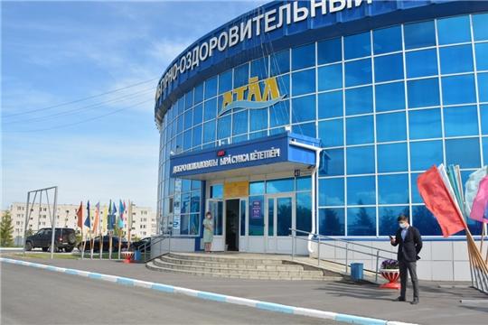 Футбольное поле в Козловке планируют открыть в октябре
