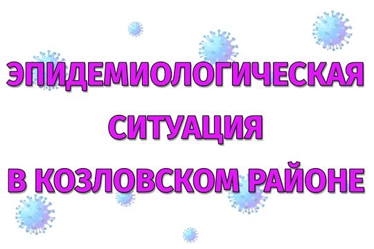 Эпидемиологическая ситуация в Козловском районе на 09 июля