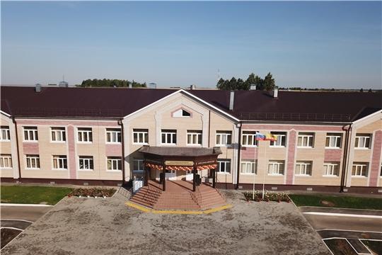 Торжественное открытие новой современной школы в селе Байгулово