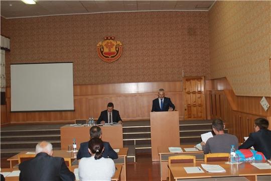 Второе  заседание Собрания депутатов Козловского района  седьмого  созыва.