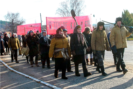 Козловский район присоединился к марафону мероприятий, посвященных трудовому подвигу строителей Сурского и Казанского оборонительных рубежей