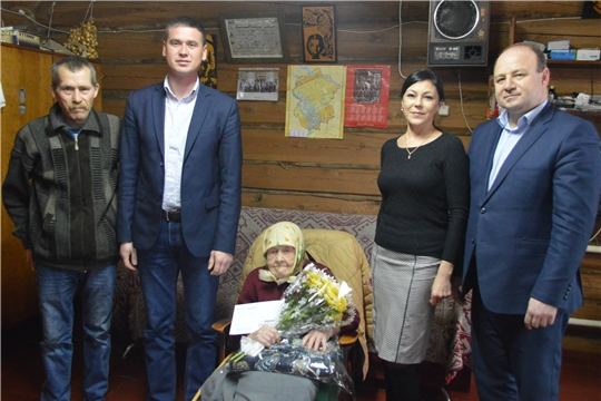 Жительница Красноармейского района отмечает 100-летний юбилей