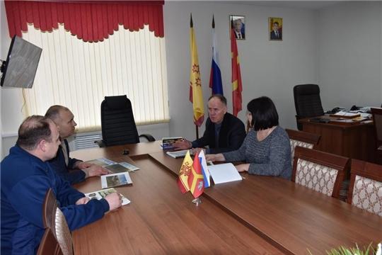 Рабочая встреча главы администрации Красноармейского района А.Н. Кузнецова
