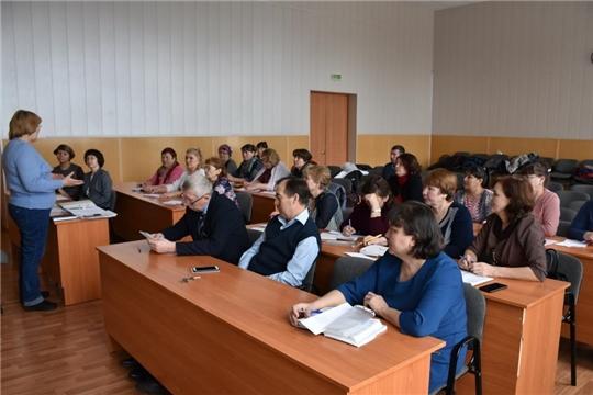 Красноармейская территориальная избирательная комиссия  провела обучающий семинар с председателями участковых избирательных комиссий района