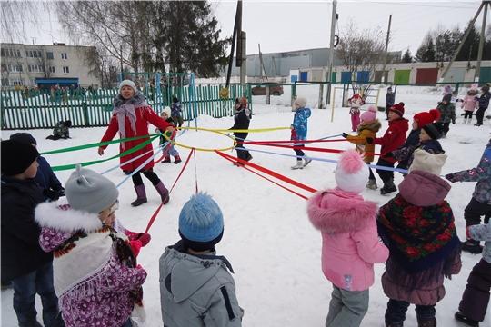 Широкая Масленица в детском саду «Чебурашка»