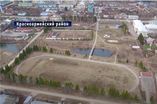 Будущий стадион в Красноармейском районе