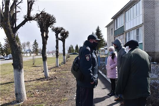 Мобильные группы продолжают патрулировать улицы с. Красноармейское