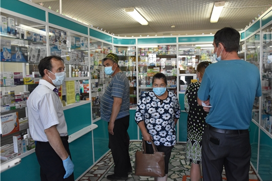 Очередной рейд мобильной группы по противодействию распространения новой коронавирусной инфекции в Красноармейском районе