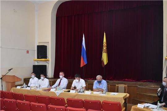 В Красноармейском районе состоялась встреча кандидатов на должность Главы Чувашской Республики