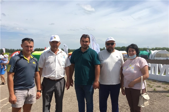 Глава администрации Красноармейского района А.Н. Кузнецов посетил выставку «День поля - 2020»