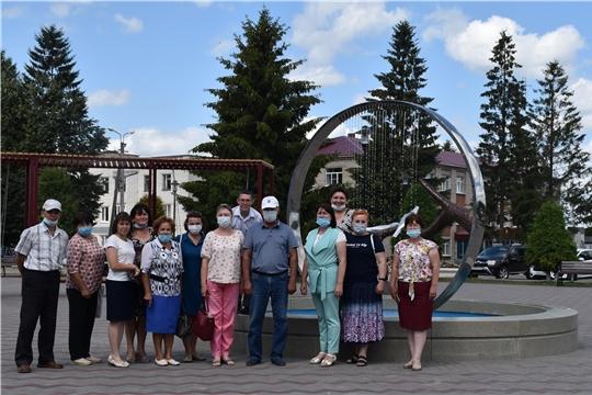 Делегация Красноармейского района в гостях на Красночетайской земле
