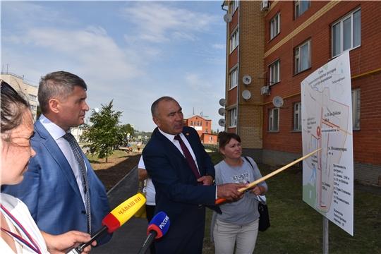 Красноармейский район с рабочим визитом посетил врио Главы Чувашии Олег Николаев