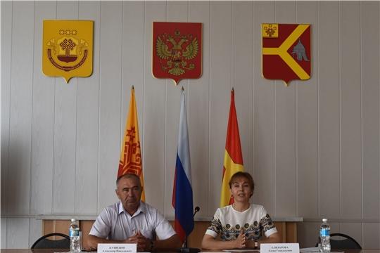 Министр труда и социальной защиты Чувашской Республики А.Г. Елизарова посетила Красноармейский район