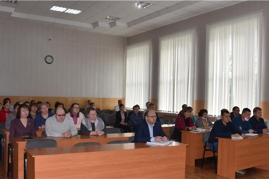 Глава администрации района А.Н. Кузнецов провел еженедельное совещание