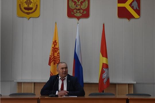 В Красноармейском районе состоялось первое организационное заседание Собрания депутатов Красноармейского района VII созыва