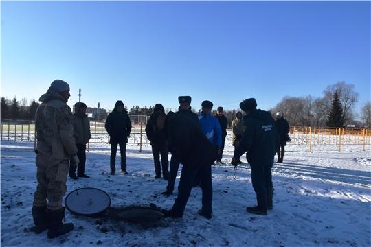 В Красноармейском районе состоялась приемка футбольного поля с искусственным покрытием