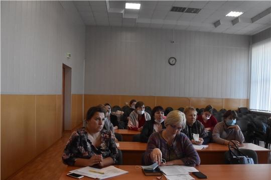 Обучающий семинар для специалистов администраций сельских поселений Красноармейского района