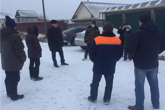 Глава администрации района А.Н. Кузнецов провел встречу с жителями д.Синьял-Шатьма