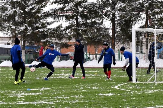 В Красноармейском районе появился новый футбольный стадион