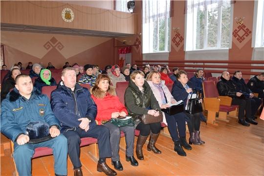 Информационная встреча с жителями прошла в Хозанкинском сельском поселении.
