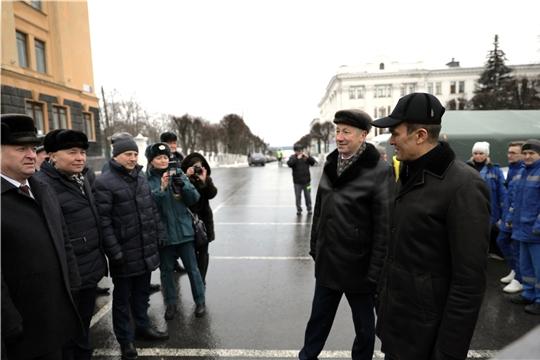 Глава администрации Красночетайского района принял участие в подведении итогов деятельности экстренных служб Чувашии за минувший год.