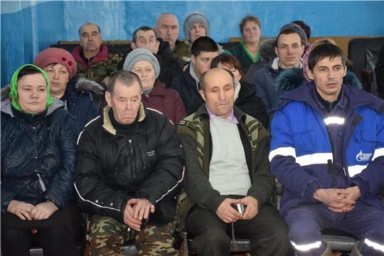 Прошла очередная информационная встреча с населением Староатайского сельского поселения.