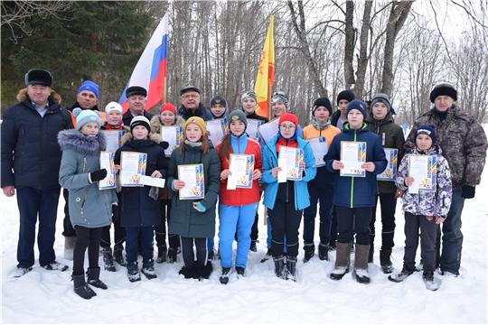Лыжные эстафетные гонки на призы депутата Госсовета Чувашской Республики В. М. Павлова