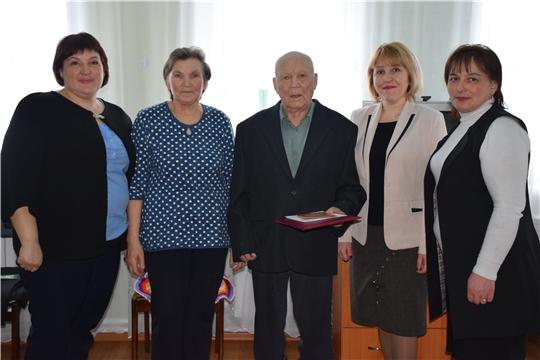Участник Великой Отечественной войны Семен Шорников отметил 100-летний юбилей