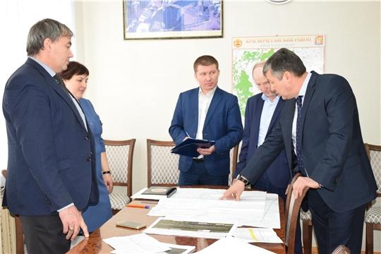 И.о. министра транспорта и дорожного хозяйства Чувашской Республики Владимир Осипов с рабочим визитом посетил Красночетайский район