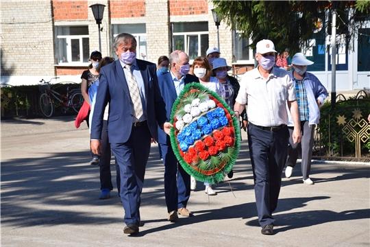 В День памяти и скорби в Красночетайском районе состоялось возложение венков