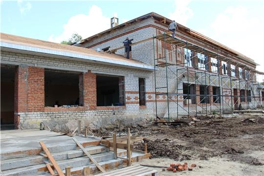 Красночетайская детская школа искусств в сентябре встретит своих воспитанников в новом отремонтированном здании.