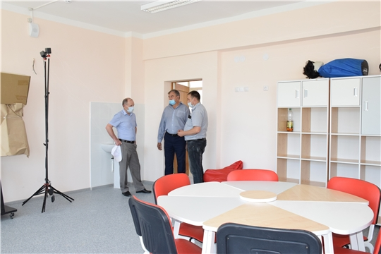 Атнарская школа преображается к новому учебному году