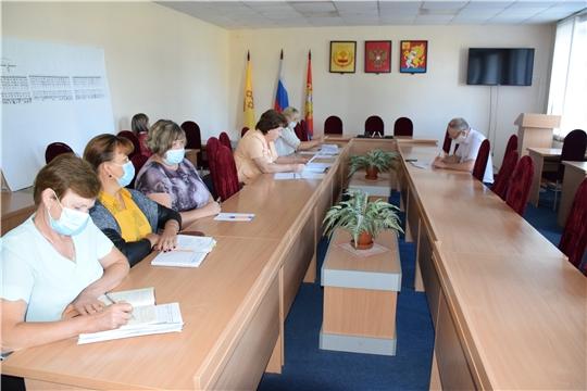 Заседание комиссии по повышению устойчивости социально-экономического развития Красночетайского района