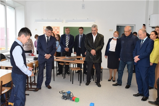 Красночетайский район посетил врио Главы Чувашской Республики Олег Николаев.
