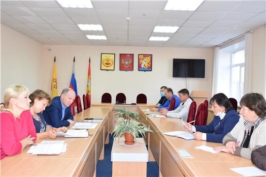 На совещании с главами сельских поселений подведены предварительные итоги голосования на выборах Главы Чувашской Республики