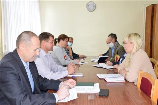 Состоялось совещание с главами сельских поселений.