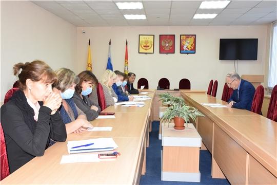 Заседание комиссии по повышению устойчивости социально – экономического развития Красночетайского района.