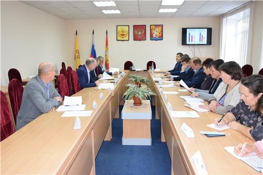 Красночетайский район: прошло очередное совещание с главами сельских поселений.