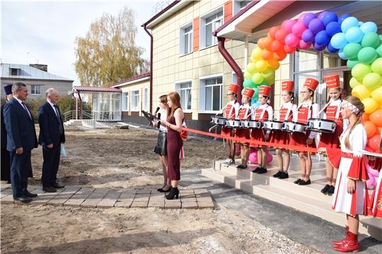В Красночетайском районе после капитального ремонта состоялось торжественное открытие Детской школы искусств