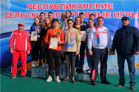 Красночетайские спортсмены завоевали 8 медалей на сельских играх