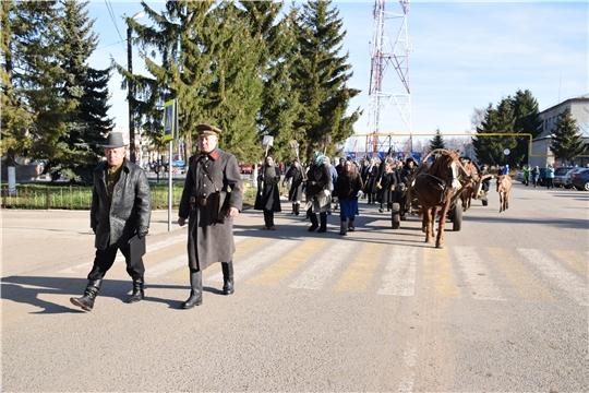 Красночетайский район присоединился к акции памяти «Строителям безмолвных рубежей»