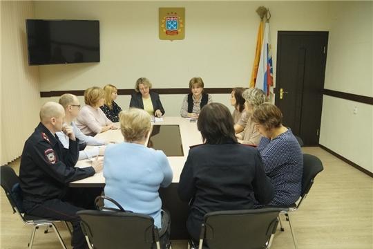 В Ленинском районе проведён Координационный совет по профилактике безнадзорности и правонарушений среди несовершеннолетних